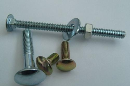 Q235 Galvanized Hex Head Bolts , Stainless Steel Carriage Bolts Long Service Life