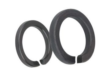 High Strength Flat Steel Spring Washer 8.8 Grade Black Color Anti Vibration M2-M56
