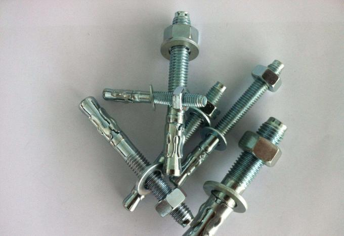 Galvanized Hex Head Sleeve Anchor Bolt Antiskid Shark Fin Type Heavy Duty Sleeve Anchors