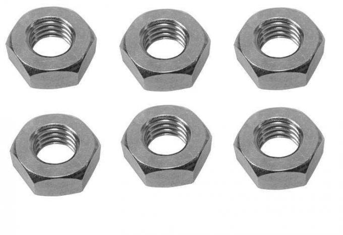 Coarse Thread Heavy Galvanized Hex Nut M12 X 1.75 For Component Trimming
