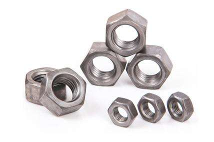 Custom Size M12 Galvanized Hex Nut Anti Theft For Building Connection Components