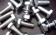 DIN 933 Galvanized Hex Bolts Class 8.8 M6 M8 M10 M12 Zinc Plated Surface Treatment