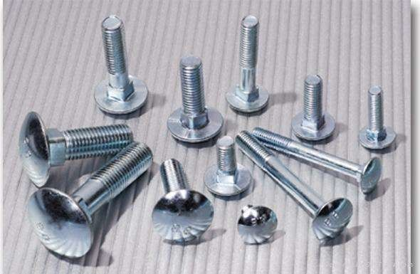 High Tensile Galvanized Structural Bolts , Stainless Steel Fine Thread Bolts Durable