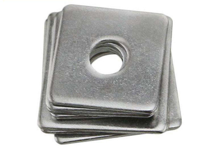Carbon Steel Square Strut Washers , Heavy Duty Square Washers Galvanized