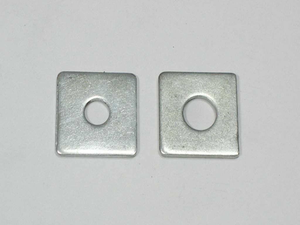 Plain Carbon Steel Square Plate Washers 4 Inches DIN125 Corrosion Resistant