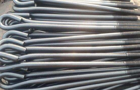 Q235 Q345 Material Foundation Anchor Bolts Grade 10.9 M40 For Tower Construction