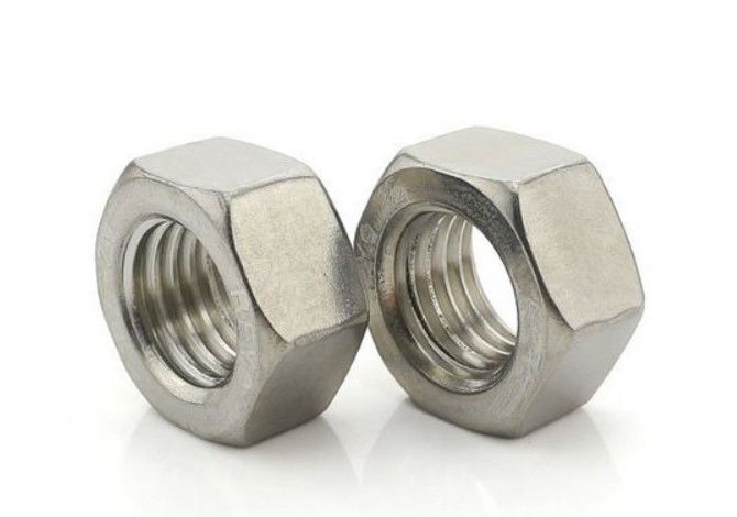 Hexagon Coupling Galvanized Hex Nut Carbon Steel material M3-M64 Size DIN Standard