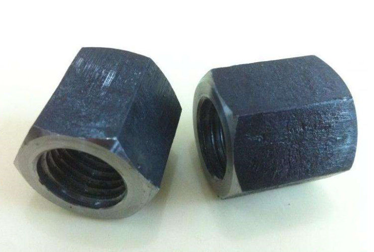 DIN934 Galvanized Hex Nut Carbon Steel Hexagon Weld For High Speed Railways