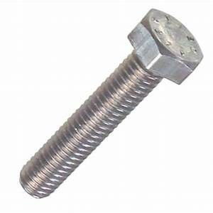 High Tensile Stainless Steel Fully Threaded Hex Bolts For Construction Industry