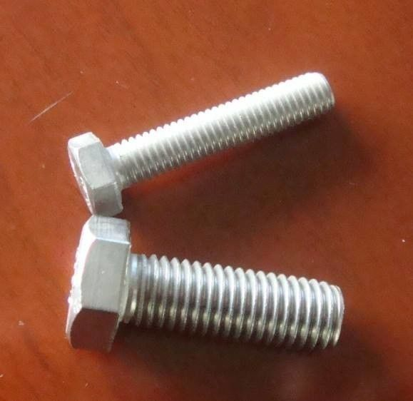GB70.1 Fully Threaded Hex Bolts Carbon Steel Structural Heavy Hex M6-M30 Size