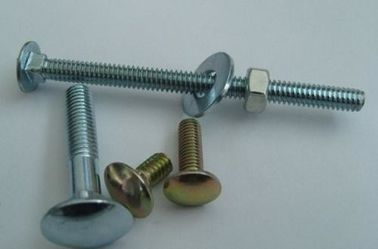 China Fine Threaded Hot Dipped Galvanized Hex Bolts High Precision Dia Abrasion Resistant factory