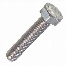 China DIN912 Half Thread Heavy Hex Structural Bolt , Stainless Steel Hex Head Bolts factory