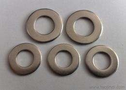 China Large Diameter Stainless Steel Flat Washers / Fender Washers / Spacer Washers Round Hole distributor