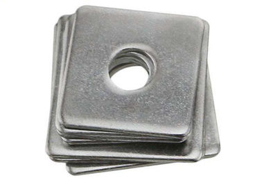 China Carbon Steel Square Strut Washers , Heavy Duty Square Washers Galvanized distributor