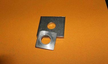 China Heavy Duty Square Plate Washers Flat Ring Gasket Q235 Steel Hot Dip Galvanized distributor