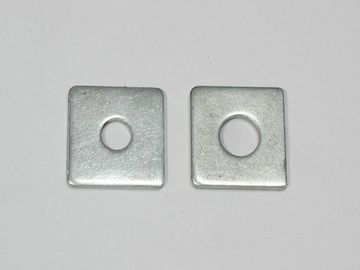 China Plain Carbon Steel Square Plate Washers 4 Inches DIN125 Corrosion Resistant distributor