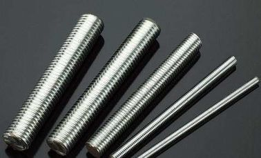 China Industrial DIN975 All Threaded Rod Fasteners , Fully Threaded Tension Rod Carbon Steel distributor