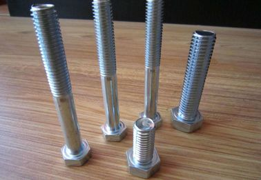 China Anti Corrosion Stainless Steel Sheet Metal Screws Hex Head Flange Bolt Din 933 distributor