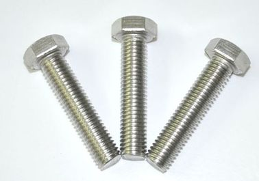 China Anti Corrosion Carbon Fully Threaded Bolts , Hex Bolt Fastener Din 931 For Ships factory