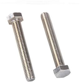 China Steel Structure Hex Tap Bolts Fully Threaded , Grade 8.8 Long Hex Head Bolts factory