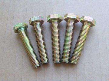 China Anti Corrosion Fully Threaded Hex Bolts High Tensile For Construction Industry distributor