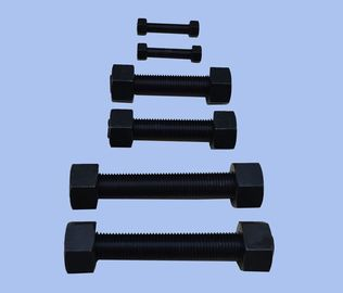 China Din 933 Fully Threaded Hex Bolts Grade 8.8 10.9 For Building Industry Machinery distributor